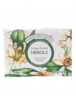 Натуральное растительное мыло с маслом оливы, экстрактом календулы и ароматом нероли