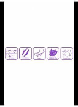 Женские гигиенические прокладки MAX OVERNIGHT (8 шт)