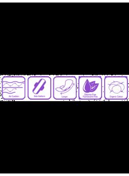 Женские гигиенические прокладки EXTRA LONG (34 шт)