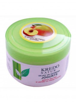 Kredo Natur Йогурт для лица и тела с ароматом персика/манго
