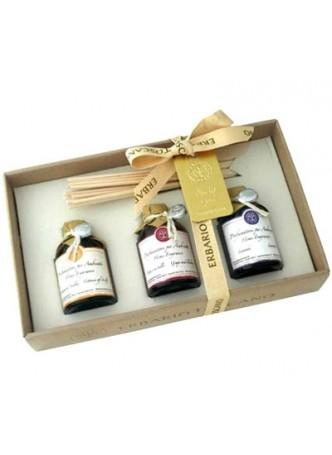 Подарочный набор Ароматы для дома: Сицилийский Цитрус, Виноград и Черника, Лаванда (3 шт.)