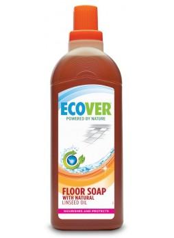 Жидкий концентрат с льняным маслом для мытья пола